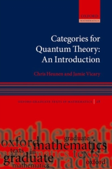 Image for Categories for quantum theory  : an introduction