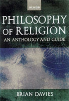 Image for Philosophy of religion  : a guide and anthology