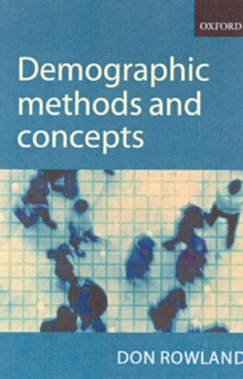 Image for Demographic methods and concepts