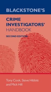 Image for Blackstone's crime investigators' handbook