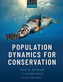 Image for Population dynamics for conservation