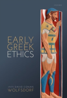Image for Early Greek Ethics