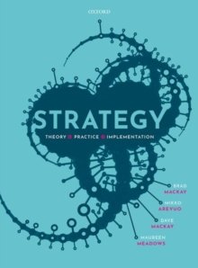 Image for Strategy  : theory, practice, implementation
