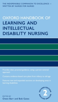 Image for Oxford handbook of learning and intellectual disability nursing