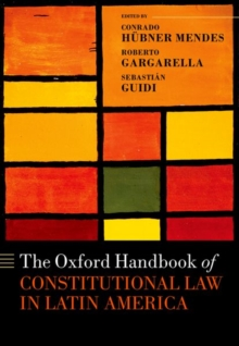 Image for The Oxford handbook of constitutional law in Latin America