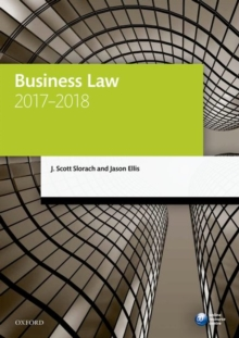 Image for Business law 2017-2018