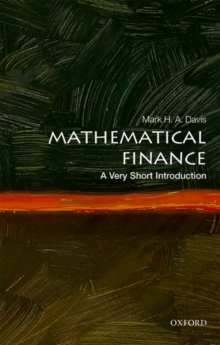Image for Mathematical finance  : a very short introduction