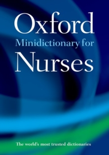 Minidictionary for nurses - Martin, Elizabeth A. (Formerly of Market House Books)
