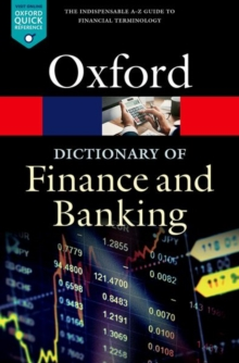 Image for A dictionary of finance and banking