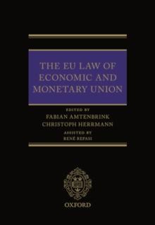 Image for EU Law of Economic & Monetary Union