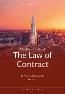 Image for O'Sullivan & Hilliard's The law of contract