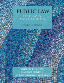 Image for Public law  : text, cases, and materials