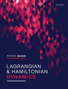 Image for Lagrangian and Hamiltonian dynamics
