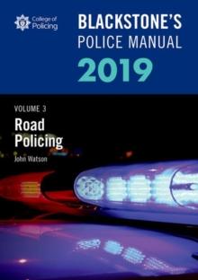 Image for Blackstone's police manualVolume 3,: Road policing