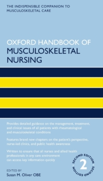 Image for Oxford handbook of musculoskeletal nursing