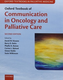 Image for Oxford textbook of communication in oncology and palliative care