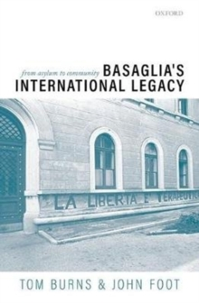 Image for Basaglia's International Legacy: From Asylum to Community