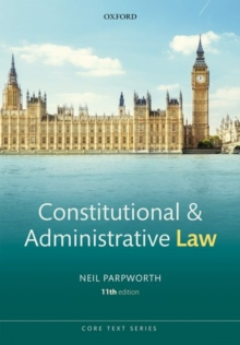 Image for Constitutional and administrative law