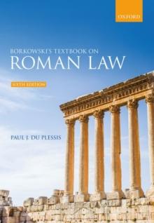 Image for Borkowski's textbook on Roman law