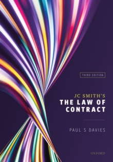 Image for JC Smith's The law of contract