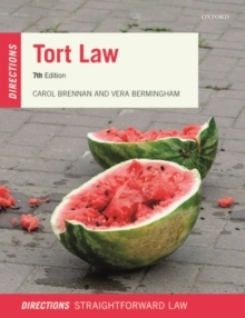 Image for Tort Law Directions
