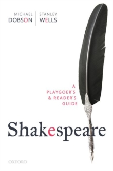 Image for Shakespeare  : a playgoer's & reader's guide