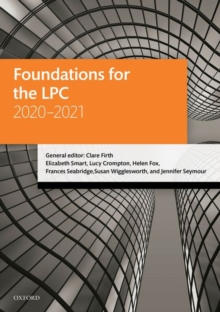 Image for Foundations for the LPC 2020-2021