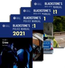Image for Blackstone's Police Manuals 2021: Four Volume Set
