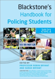 Image for Blackstone's Handbook for Policing Students 2021