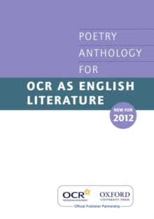 Image for Poetry anthology for OCR AS English literature