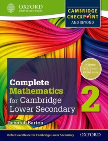 Image for Oxford international maths for Cambridge secondary 1  : for Cambridge Checkpoint and beyond: Student book 2