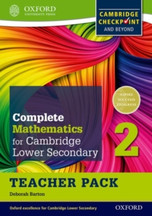 Image for Oxford international maths for Cambridge secondary 1: Teacher pack 2