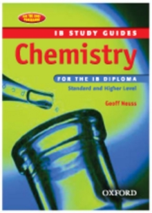 Image for Chemistry for the IB Diploma  : standard and higher level