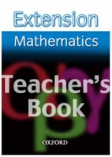 Image for Extension Maths: Teacher's Book