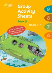 Image for Oxford Reading Tree: Stages 6-9: Book 3: Group Activity Sheets