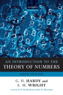 Image for An introduction to the theory of numbers