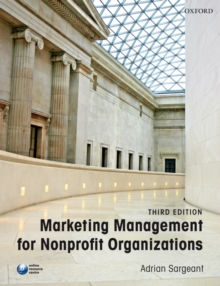 Image for Marketing management for nonprofit organizations