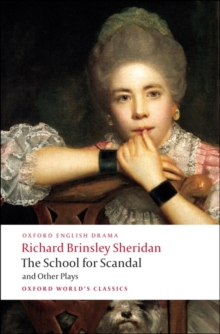 Image for The School for Scandal and Other Plays