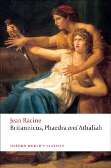 Image for Britannicus, Phaedra, Athaliah