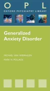 Image for Generalized anxiety disorders