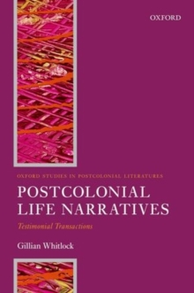 Image for Postcolonial life narratives  : testimonial transactions