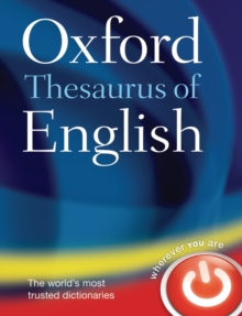 Image for Oxford thesaurus of English