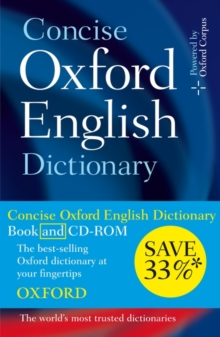 Image for Concise Oxford English dictionary