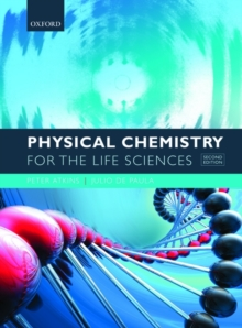 Image for Physical chemistry for the life sciences