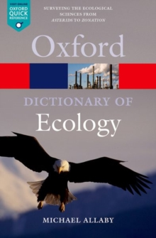 Image for A dictionary of ecology