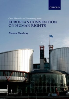 Image for Cases, materials, and commentary on the European Convention on Human Rights