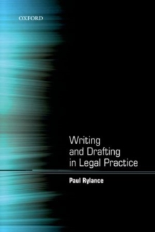 Image for Writing and drafting in legal practice