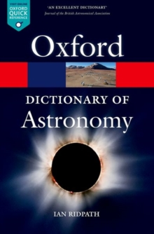 Image for A dictionary of astronomy