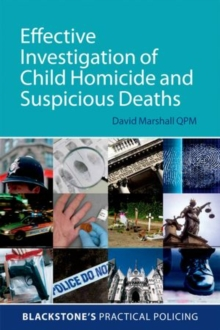Image for Effective investigation of child homicide and suspicious deaths