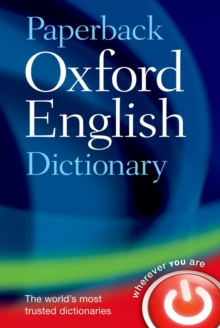 Image for Paperback Oxford English dictionary